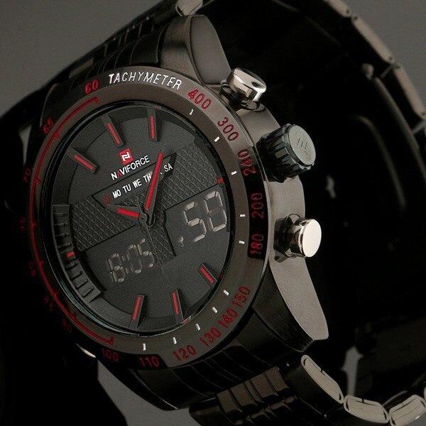 aliexpress com buy digital led watch men sports watch luxury digital led watch men sports watch luxury brand full steel fashion quartz movement men military wristwatch