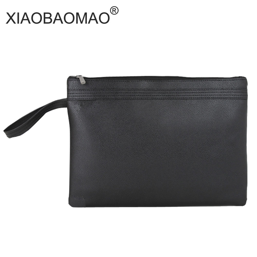 цена A4 document bag file pocket with double zipper PU Business Document Bag Filing Meeting Bags A4 file bags