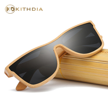 Kithdia Design New Arrived Natural Wood Sunglasses Polarized With Bamboo Case and Support DropShipping / Provide Pictures #KD205