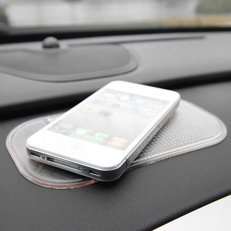 PU مكافحة زلة الهاتف حصيرة السيارات العنكبوت لوحة لاصقة ل GPS حامل هاتف المحمول حامل المنزل اكسسوارات السيارات