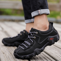 Spring Autumn Men Outdoors Brand Shoes Non Slip Rock Climbing Shoes Genuine Leather Sneakers Men Designer Hiking Shoes for Mens