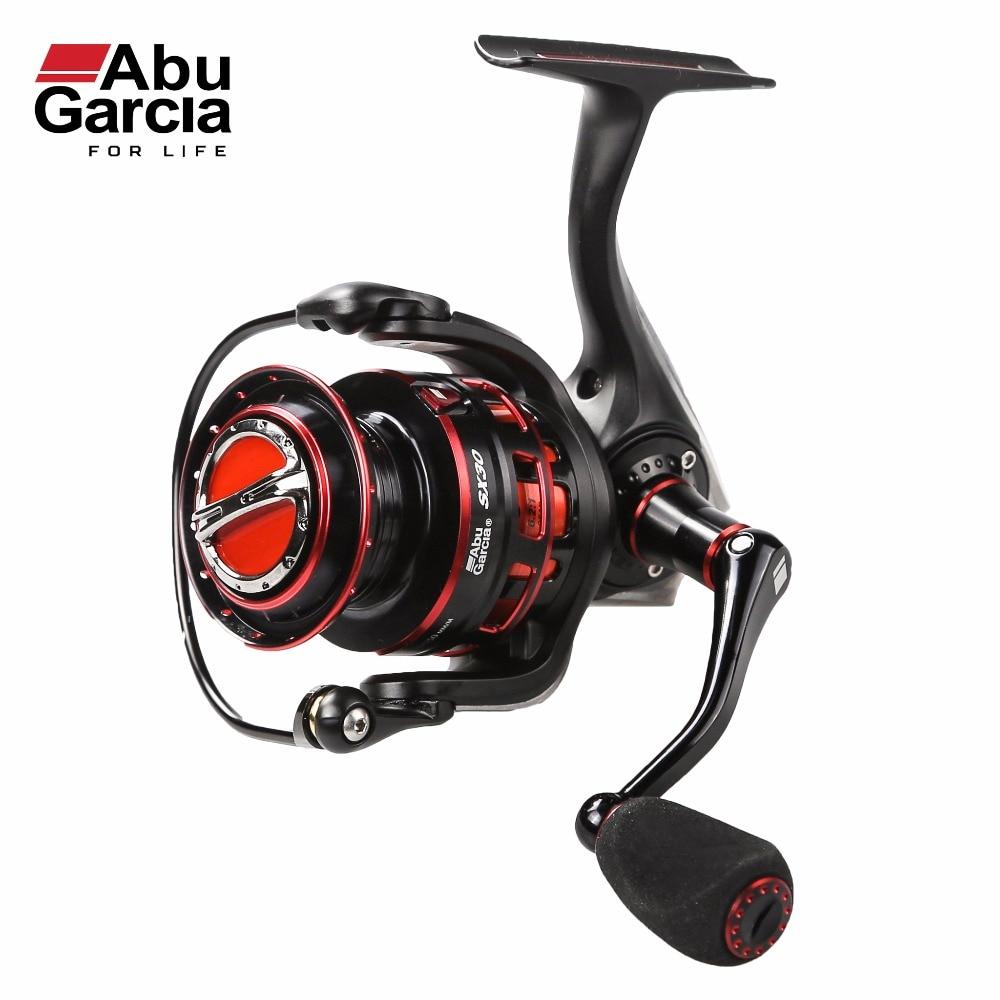 2017 New Abu Garcia 100% Original REVO SX Spinning Fishing Reel 1000-4000 Front-Drag Fishing Reel 8+1BB 6.2:1