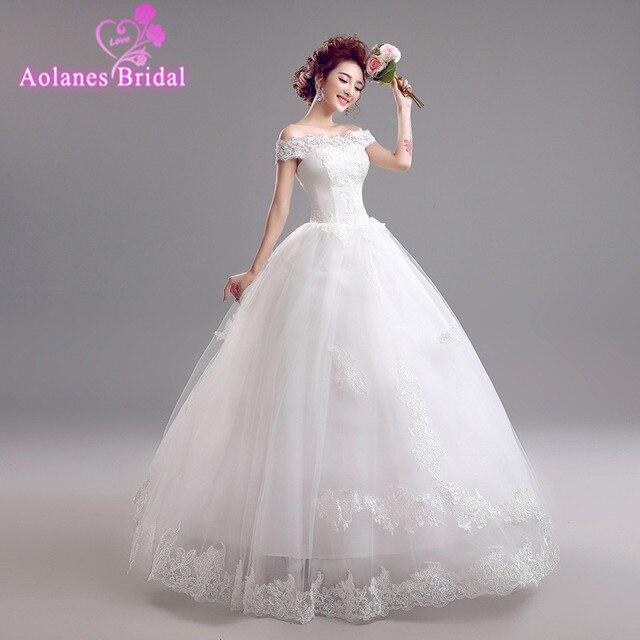 Vestido De Noiva Renda Vintage Lace Princess Wedding Dress: Vestido De Noiva Renda Vintage Lace Appliques Princess