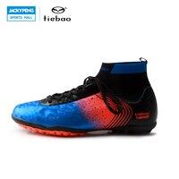 TIEBAO 2017 Yeni Profesyonel Açık Futbol Ayakkabı Erkekler Kadınlardan TF Çim Sole Boots Futbol Ayakkabı Yetişkin Atletik Eğitim Ayakkabı