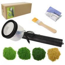 Mini Stroomden Machine Statische Gras Master Applicator Batterij Aangedreven 5mm 120g gras poeder Trein Wargames Model Gereedschap