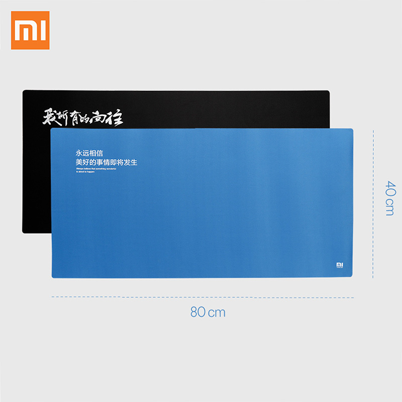 Original XiaoMi Huge Extra XL 800X400 MM Large Size Mouse Pad Compatible with Keyboard For Optical