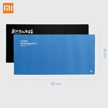 D'origine XiaoMi Énorme Supplémentaire XL 800X400 MM Grande Taille Tapis de Souris Compatible avec Clavier Pour Trackball Optique Laser souris