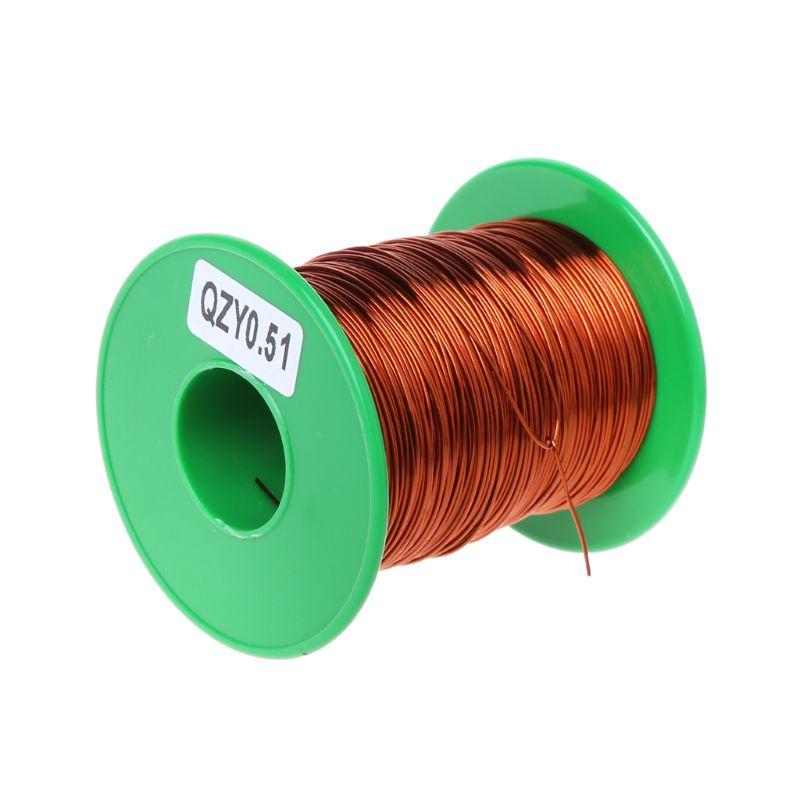 Fio de cobre esmaltado 100mm 0.51/QZY-2 do poliéster imida de alta temperatura de 180 m