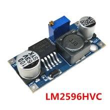 Lm2596hvs lm2596 hv lm2596hv DC-DC ajustável step down buck conversor módulo de potência 4.5-50v a 3-35v urrent limitando