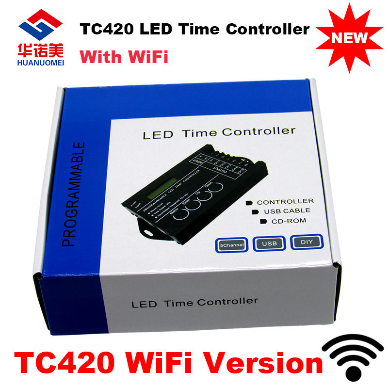 Newest Tc421 Wifi Time Programmable Led Controller Tc420