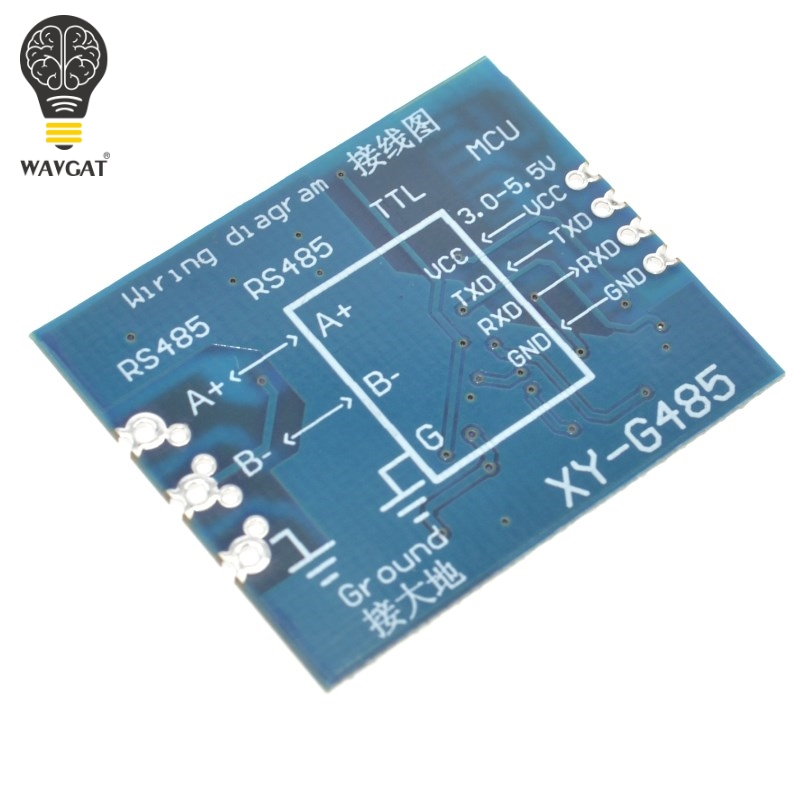 TTL to RS485 Module RS485 Signal Converter 3V 5.5V Isolated Single ...