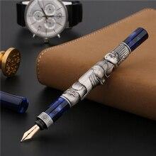 Пимио Пикассо картина мечты, ps 88 14k Золотая перьевая ручка Blue Periodo Azul высококачественный подарок на день рождения