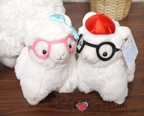 Alpacasso with glasses small - 3