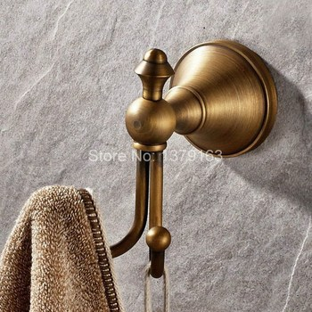 jomoo robe hook wall hooks nail coat hook brass chrome kitchen key holder wall mounted clothes hat hooks bathroom accessories Bathroom Accessory Vintage Retro Antique Brass Wall Mounted Hardware Robe Hook Hanger Clothes Coat Hat Bag Towel Holder aba146