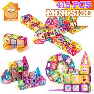 415PCS Mini Magnetic Blocks Ma