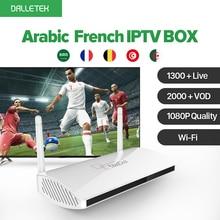 Android WI-FI ТВ Box 1300 + Live Европа Арабский IP ТВ 1 год подписки Max Италия Португалия французский IP ТВ Приемник Декодер каналов кабельного телевидения