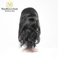 Парики из натуральных волос на кружевной основе бразильские волосы натуральные волосы лента спереди бесклеевая кружевная лента 150%