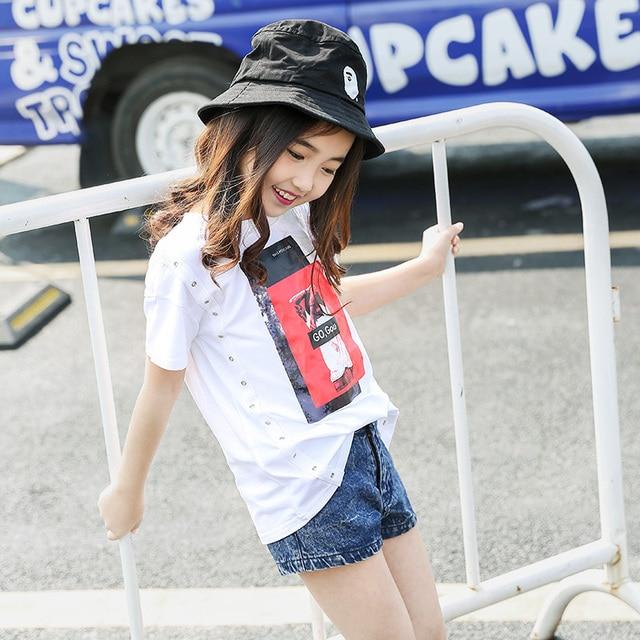 1be8ae9bb9b3 2016 Latest Fashion Kids Summer T Shirt Baby Girl Black Red Lip ...