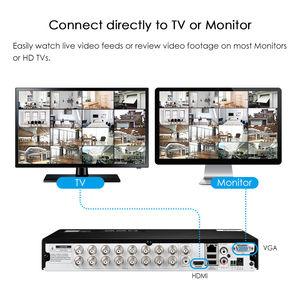 Image 5 - ZOSI HD 1080P 16CH DVR Überwachung Video Recorder H.264 P2P DVR Recorder Telefon Überwachung Für Kamera Sicherheit System
