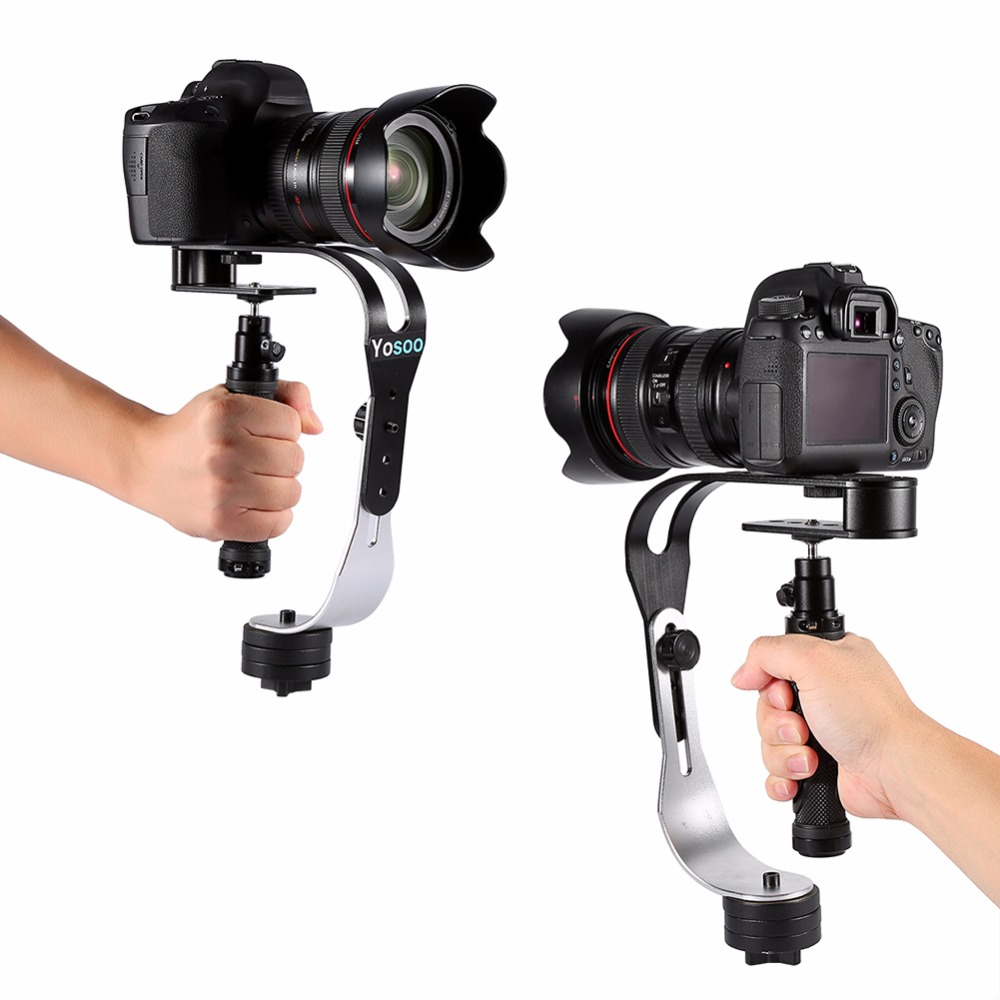 For Feiyu/Zhiyu Steadycam Handheld Video Stabilizer Digital Camera Holder Motion Steadicam For Canon/Nikon/Sony/Gopro Phone DSLR