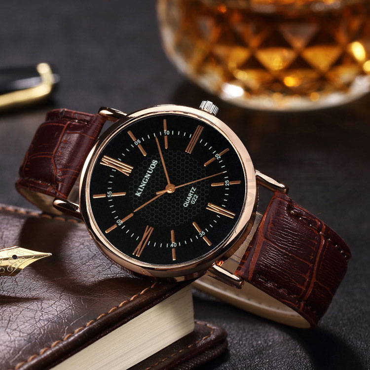 Rose Gold Wrist Watch Men Watches Top Luxury Brand Famous New Business Quartz Watch Male Clock For Men Hodinky Relogio Masculino