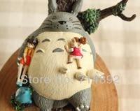 Genuine Tonari no Totoro Aciton Figure Miyazaki Hayao Totoro Sleeping Shape Anime Classic Toys