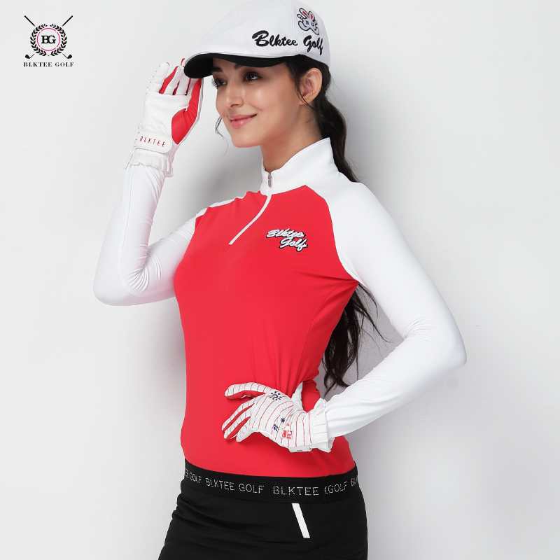 цены на Golf Long Sleeve Shirt for Women High Elastic Warm Sports T Shirts Autumn Winter Bottoms for ladies Baseball Clothing в интернет-магазинах