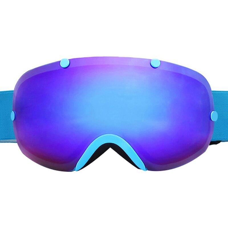 Óculos de esqui Anti-fog UV400 Dupla Lente Esférica Óculos De Esqui Das  Mulheres Dos Homens Snowboard Skate óculos De Esqui na Neve 540548d049