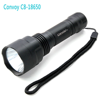 Outdoor Lighting Waterproof Lampe Torche Convoy C8 Cree LED Flashlight Rechargeable Blacklight Diving Flashlight 18650 Led