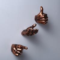 Creative Retro Hand Shape Hanging Decorations Home Bar Room Decoration Habitacion Resin Crafts