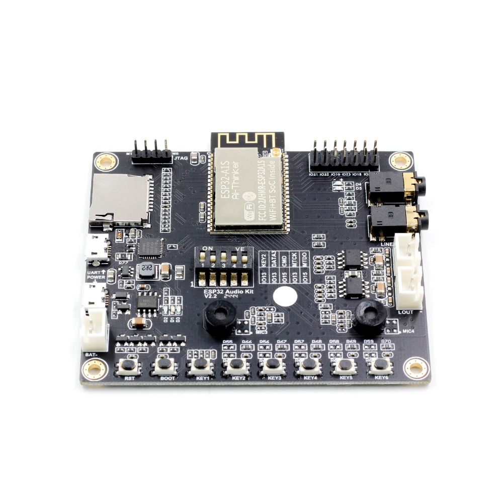 ESP32-Aduio-Kit WiFi+ Bluetooth module ESP32 serial to WiFi /  ESP32-Aduio-Kit audio development board with ESP32-A1S
