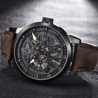 Luxury Brand PAGANI DESIGN Leather Tourbillon Watch Men Automatic Wristwatch Fashion Men Mechanical Watches Relogio Masculino