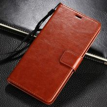 For M6 Note 5.5 Black Brown Flip Wallet Leather Phone Case Cover for M5 M3 M2 Note Meilan M 6 5 3 Note6 Luxury Card Slot Holder