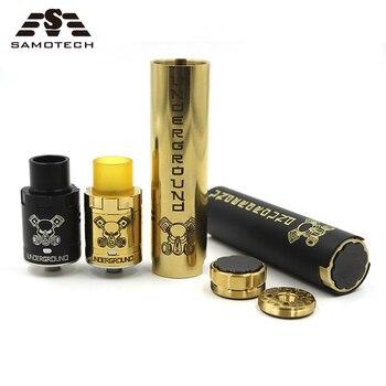 NEW KIT Underground electric cigarette Mechanical Mod Kit for 18650 battery 510 thread Full Mech Able Storm vape pen mod Kit