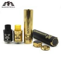 Nuevo KIT de cigarrillo eléctrico subterráneo  Kit de Mod mecánico para batería 18650  Kit de vaporizador de pluma con rosca de 510  KIT completo de vaporizador mecánico