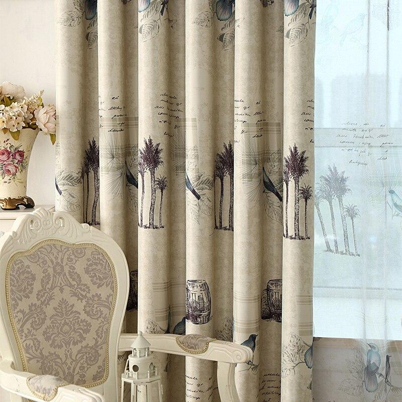 Fertige Rustikalen Stil Vorhänge für Küche Wohnzimmer Schlafzimmer ...