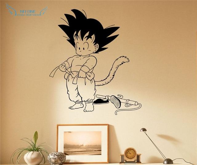 Dragon Ball Son Goku Wall Decal Vinyl Decal Comics Japanese Anime ...