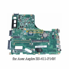 DA0ZQMMB6H0 DBMRX11003 DB.MRX11.003 For acer Asipre E5-411 laptop motherboard SR1YW N3540 CPU onboard DDR3