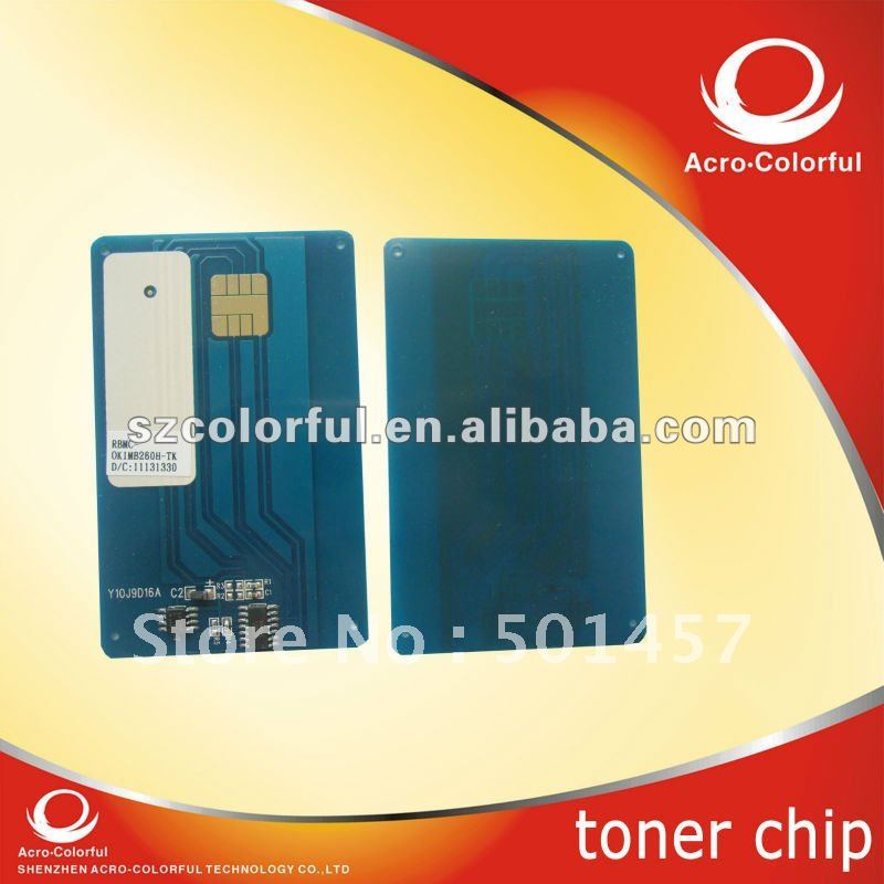 Laser Printer Parts Cartridge 1239901/01240001 Reset for Oki MB 260 280 290 Toner chip 56123401 toner cartridge chip for oki data mb260 mb280 mb290 okidata mb 260 280 290 b260 printer powder refill reset counter 3k