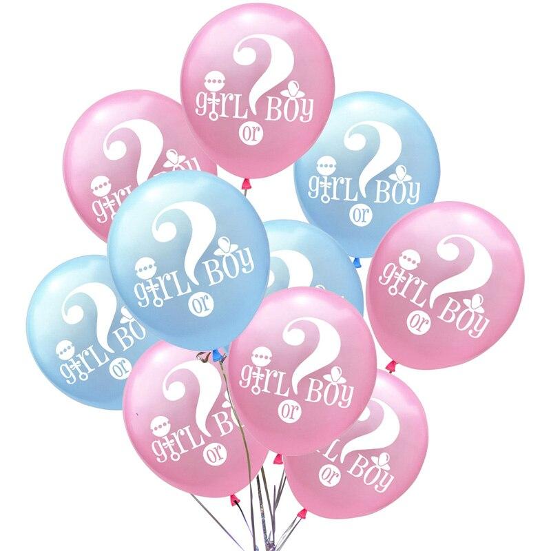 Decoracion De Baby Shower Para Nino Y Nina.Baby Shower Es Un Nino Nina Banner Oh Baby Balloon Garland