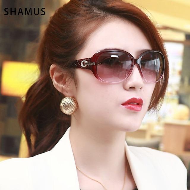 36f193e3c4c SHAMUS Sunglass With Bag Popular Sunglasses HD Lens Vintage Female Google Eyewear  Women s White Eyeglasses For Sun Wholesale