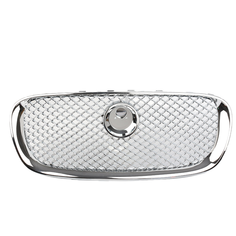 Car Front Upper Grille Mesh Grill For Jaguar XF X F 2008 2009 2010 2011 4