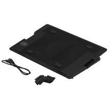 цена на External Dual USB Blue LED Stand Notebook Laptop Fan Cooling Pad Air Cooler Cooling Pad Holder For 9 to 17 Inch Notebook PC