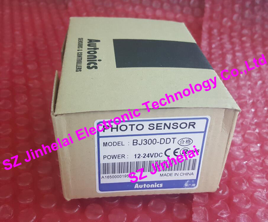 100% Authentic original BJ300-DDT AUTONICS PHOTO SENSOR 12-24V original authentic sensor byd100 ddt