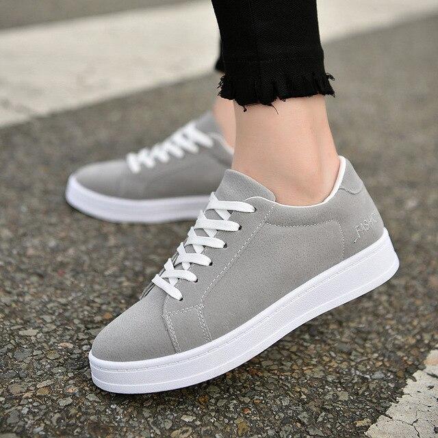 d222b2e1fa Mulheres das sapatilhas 2018 mulheres sapatos casuais moda respirável  sapatos sapatos femininos laços tenis feminino em Vulcanize Sapatos Das  Mulheres de ...