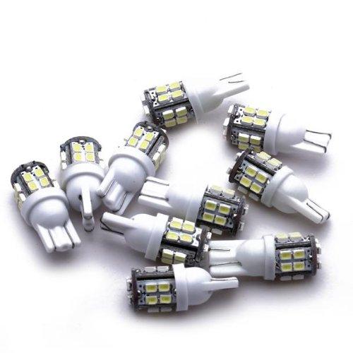 TOYL 10* T10 AMPOULE BULB 20 SMD LED 12V BLANC PR AUTO VOITURE