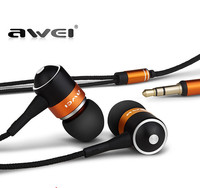 AWEI ES Q3 High Quality 3 5mm Jack Noise Isolation Headphone In Ear Style Earphone