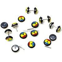 шик 20 штук украшения для тела много paddle Brush к расширители разбора ювелирные изделия оптом бесплатная доставка