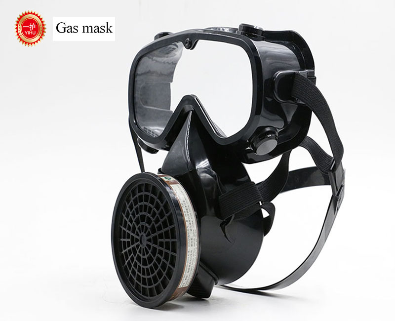high quality respirator gas mask YIHU Single cans Windproof Anti-fog Goggles full face respirators gas mask 3m 6700 6003 full face mask reusable respirator filter mask anti organic vapor acid gas 7 items for 1 set lt095