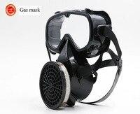 high quality respirator gas mask YIHU Single cans Windproof Anti-fog Goggles full face respirators gas mask